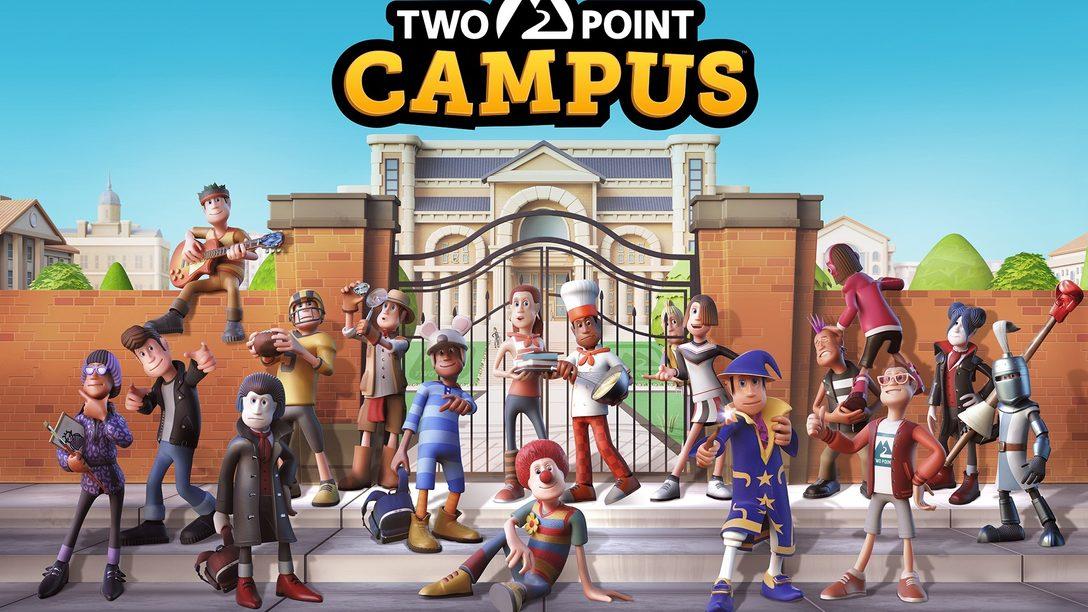 In Two Point Campus für PS4 und PS5 baut ihr euch eure Traum-Uni