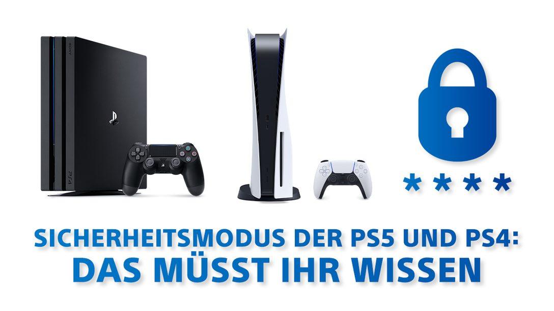 PS4 und PS5 Sicherheitsmodus – Schnelle Hilfe bei Problemen