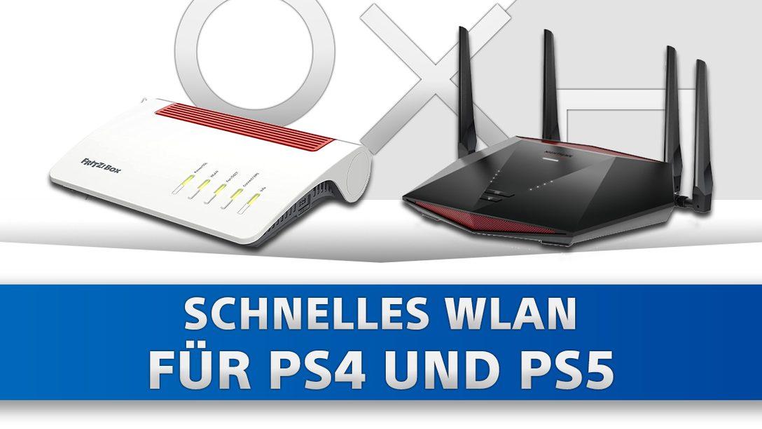 Die besten WLAN Router für PS4 und PS5