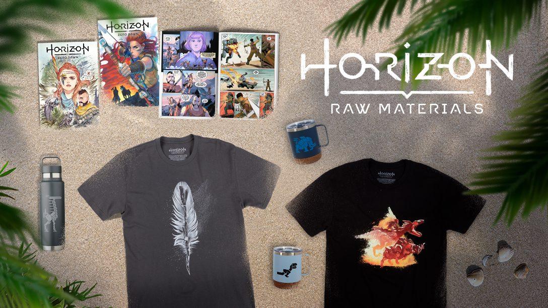 "Neues ""Horizon Raw Materials""-Merchandise: Gear Store und Comics"