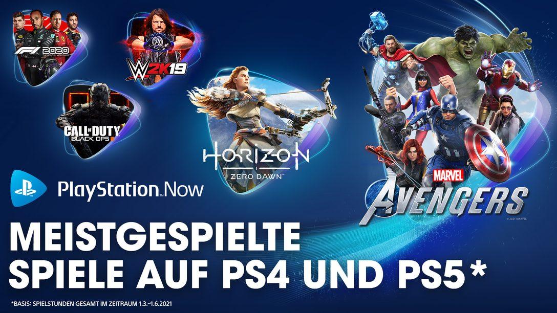 PlayStation Now: Die meistgespielten Spiele des Frühjahrs