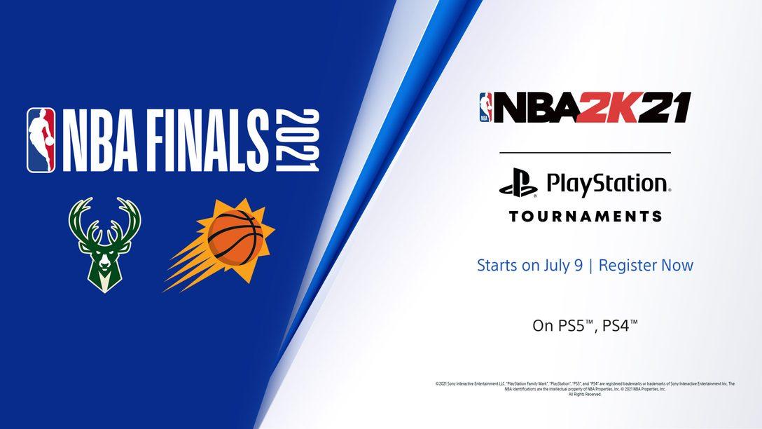 Werdet unsterblich in den NBA 2K21 PlayStation Tournaments: NBA Finals