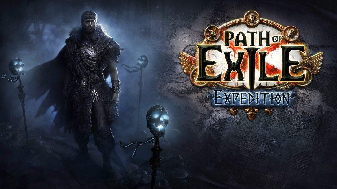 Begebt euch in der neuesten Erweiterung von Path of Exile, die ab heute erhältlich ist, auf eine Expedition