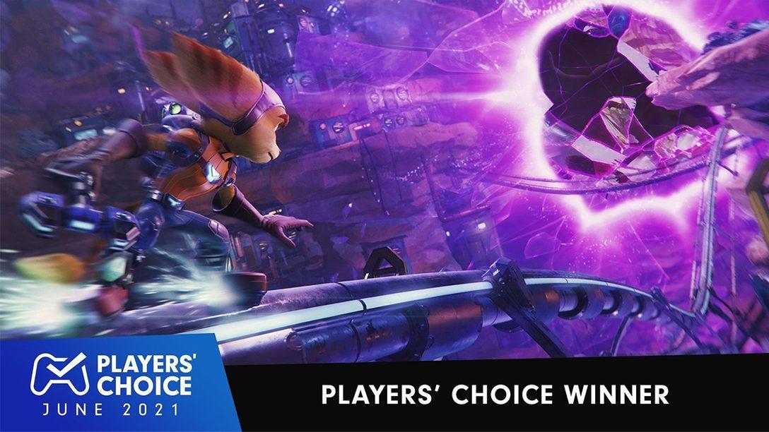 Players' Choice: Ratchet & Clank: Rift Apart ist das beste neue Spiel im Juni 2021