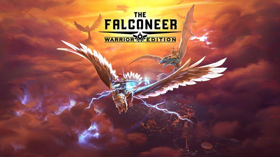 Lasst euch mit der Kraft von PS5 in die Welt von The Falconeer entführen