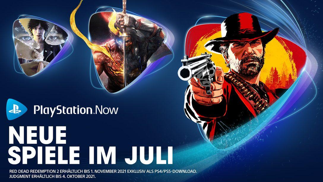PlayStation Now-Spiele im Juli: Red Dead Redemption 2, Nioh 2, Judgment