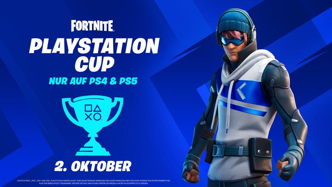 Tretet beim Fortnite PlayStation Cup an und gewinnt euren Anteil am weltweiten Gesamtpreisgeld von 110.000 $