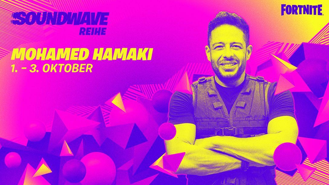Hamaki im Rampenlicht bei der Fortnite Soundwave-Reihe!