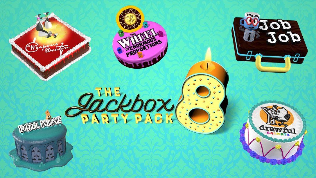 Die Inspirationen hinter neuen Spielen in The Jackbox Party Pack 8