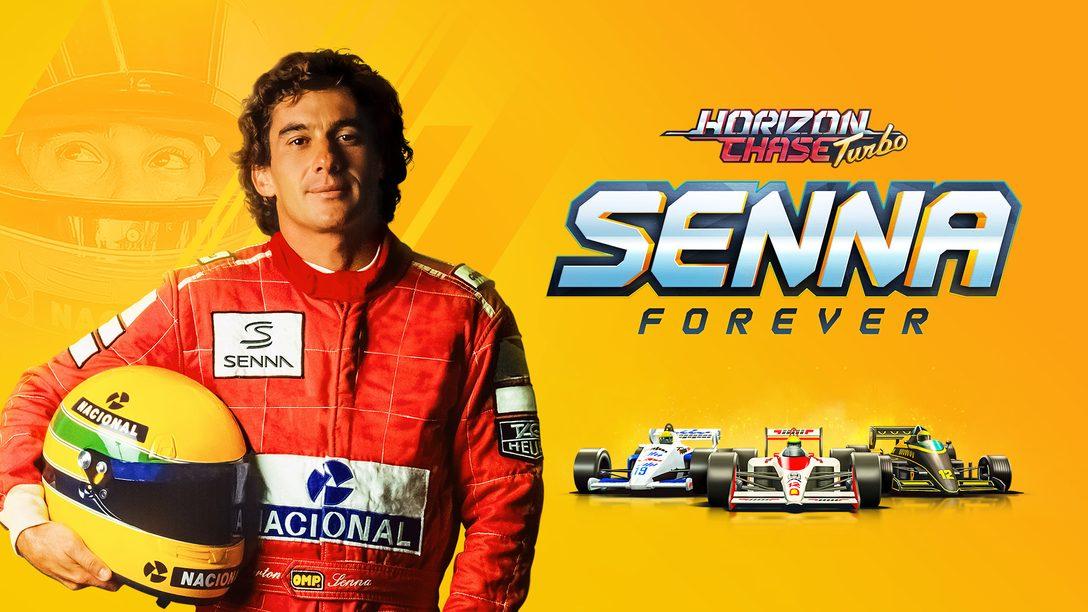 Die Erweiterung Horizon Chase Turbo: Senna Forever erscheint am 20. Oktober
